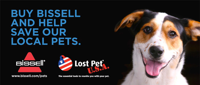 Bissell, Proud Partner for Pets
