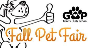 Fall Pet Fair – September 24th