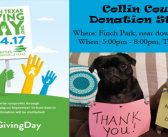 North Texas Giving Day at Collin County Donation Station – Sept 14th