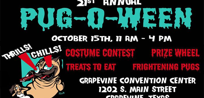 21st Annual Pug-O-Ween – Oct 15th 2017