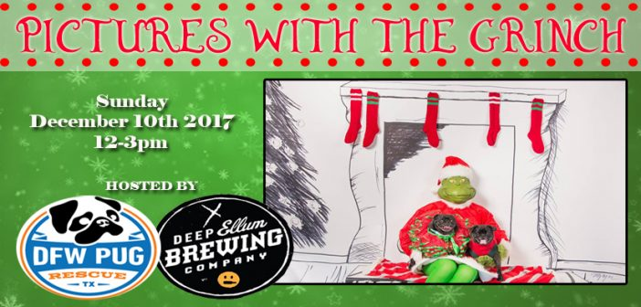 Pictures with the Grinch – Dec 10th 2017