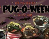 22nd Annual Pug-O-Ween – 10.21.18