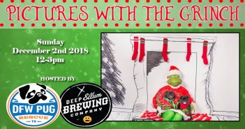 Pictures with the Grinch – 12.2.18